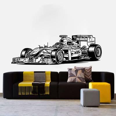 Adesivo De Parede Esportes Carro De Formula 1