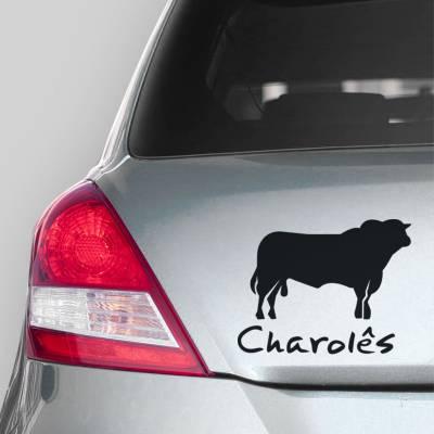 Adesivo de Carro Charole