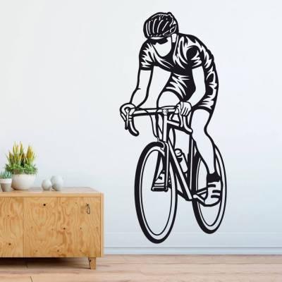 Adesivo de Parede Ciclista