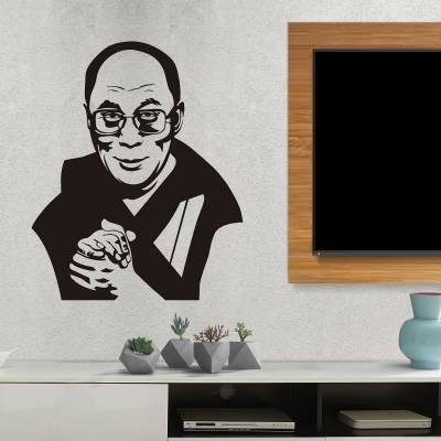 Adesivo De Parede Dalai Lama