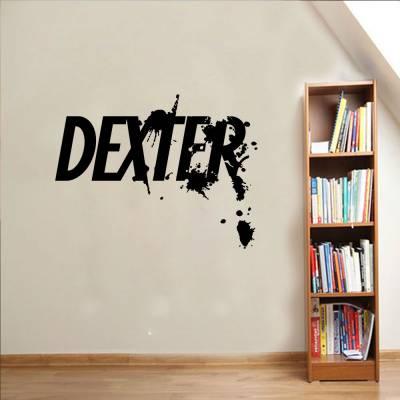 Adesivo de Parede Logo Série Dexter