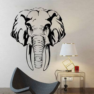 Adesivo De Parede Elefante 01
