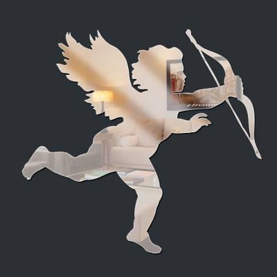 Espelho Decorativo Anjo Cupido