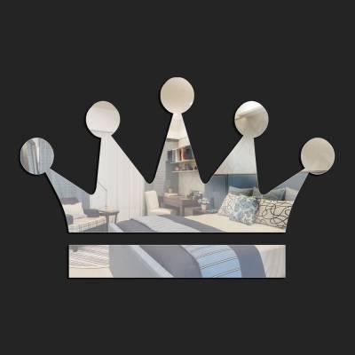 Espelho Decorativo Coroa Da Rainha