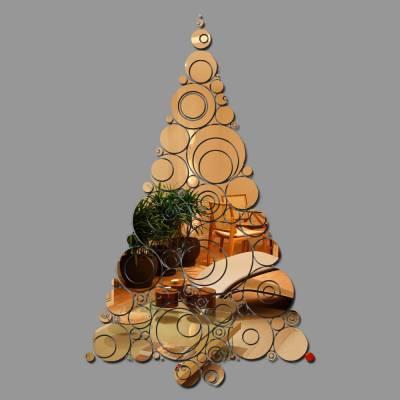 Espelho Decorativo Arvore De Natal