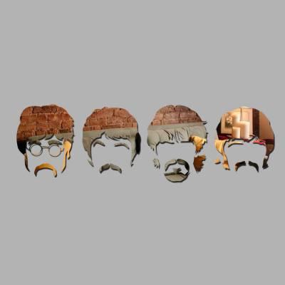 Espelho Decorativo Beatles