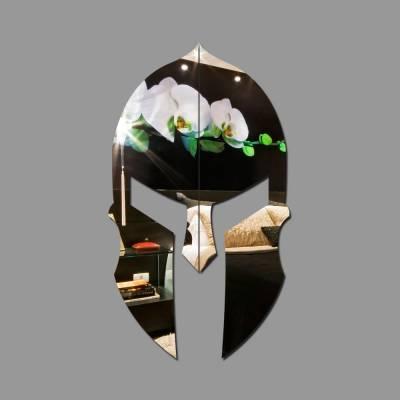 Espelho Decorativo Capacete Espartano