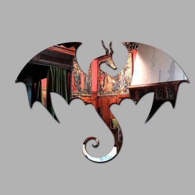 Espelho Decorativo Dragão