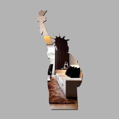 Espelho Decorativo Estatua Da Liberdade