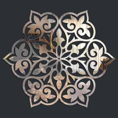 Espelho Decorativo Mosaico Florido