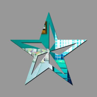 Espelho Decorativo Estrela Nautica