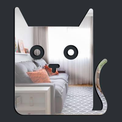 Espelho Decorativo Gato Retangular