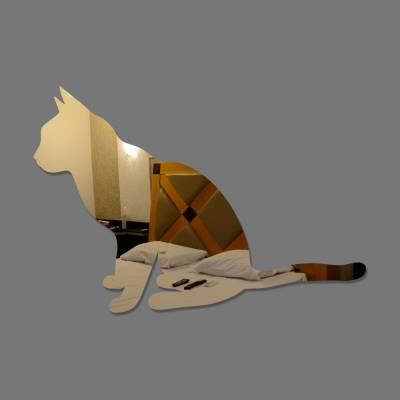 Espelho Decorativo Gato
