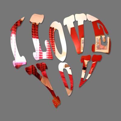 Espelho Decorativo I Love You