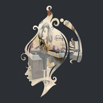 Espelho Decorativo Penteado