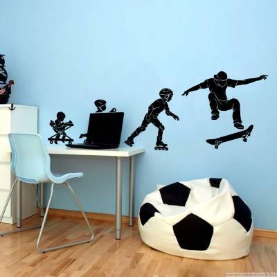 Adesivo de Parede Evoluindo No Esporte