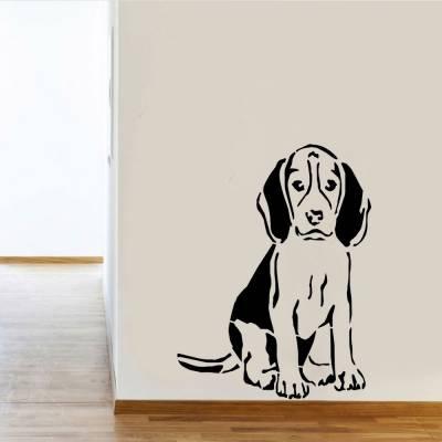 Adesivo De Parede Cachorro Beagle