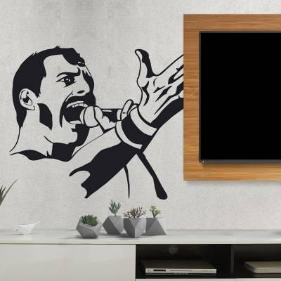 Adesivo de Parede Freddie Mercury