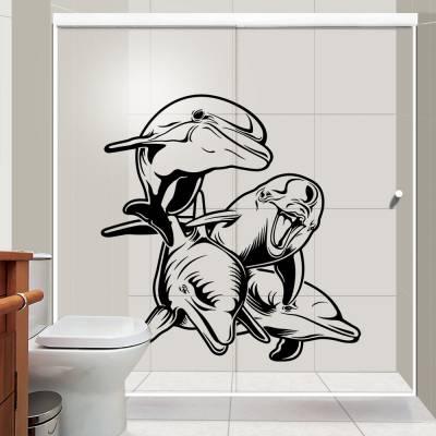 Adesivo de Parede Golfinhos