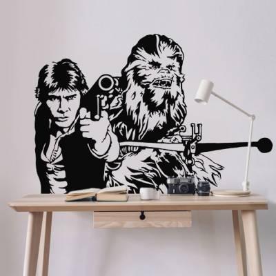 Adesivo de Parede Han Solo