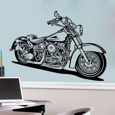 Adesivo de Parede Harley Davidson