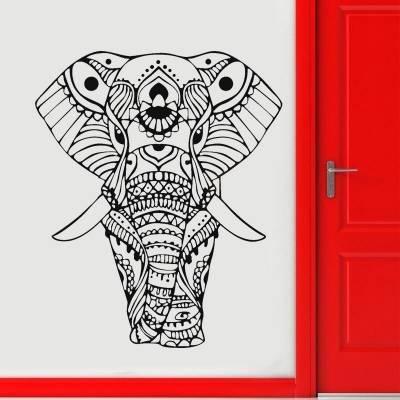 Adesivo de Parede Elefante Indiano