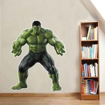 Adesivo De Parede Marvel Hulk