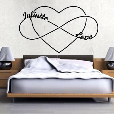 Adesivo de Parede Infinite Love