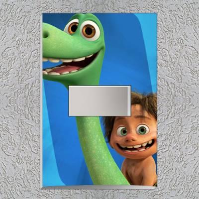 Interruptor Impresso O Bom Dinossauro 2
