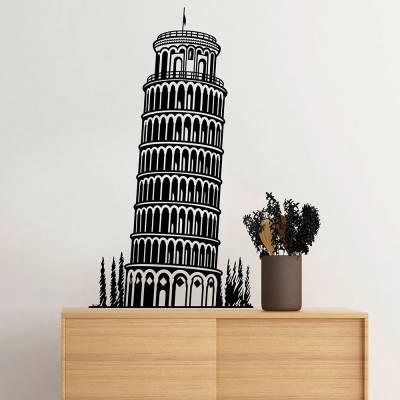 Adesivo de Parede Torre De Pisa