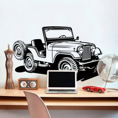 Adesivo de Parede Jeep Savana