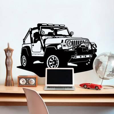 Adesivo de Parede Jeep