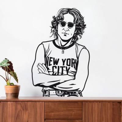 Adesivo de Parede John Lennon