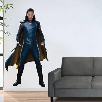Adesivo De Parede Marvel Loki