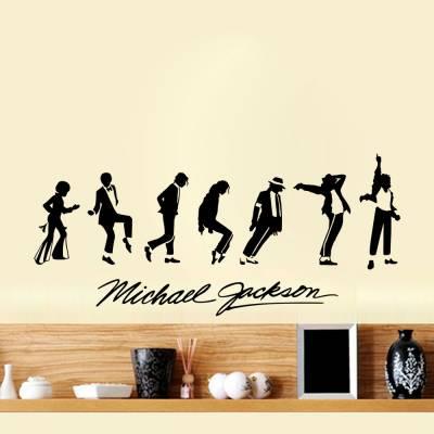 Adesivo De Parede Michael Jackson Passos De Dança