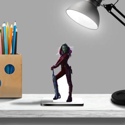 Display De Mesa Gamora Guardiões Da Galaxia