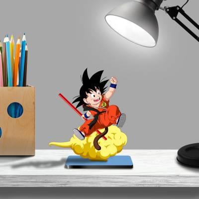 Display De Mesa Goku na Nuvem Voadora