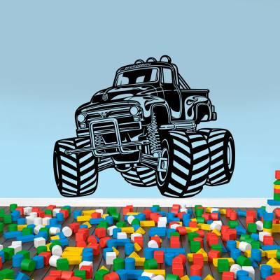 Adesivo de Parede Monster Truck