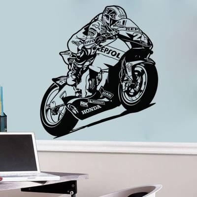 Adesivo de Parede Moto GP