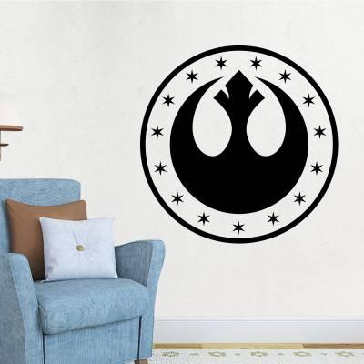 Adesivo De Parede Nova Republica Star Wars