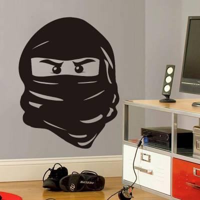 Adesivo de Parede Ninja Face