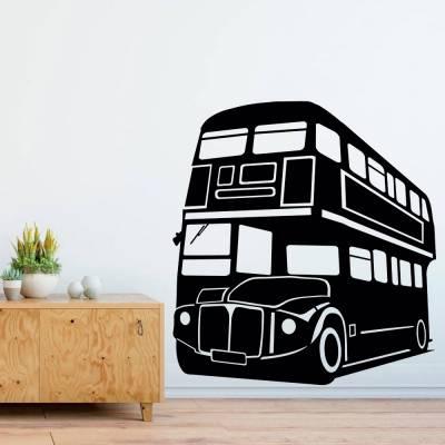 Adesivo De Parede Ônibus London