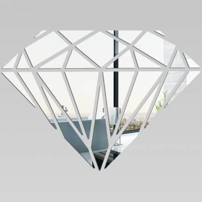 Espelhos Decorativos de Diamante