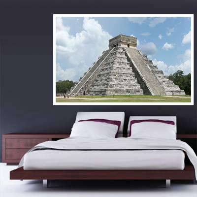 Painel Adesivo Para Parede Piramide