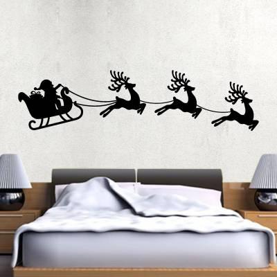 Adesivos De Parede Papai Noel Trenó