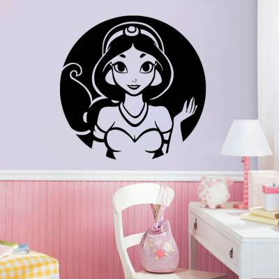 Adesivo De Parede Princesa Jasmine