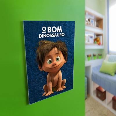 Quadro Decorativo O Bom Dinossauro