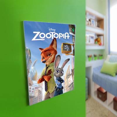 Quadro Decorativo Zootopia