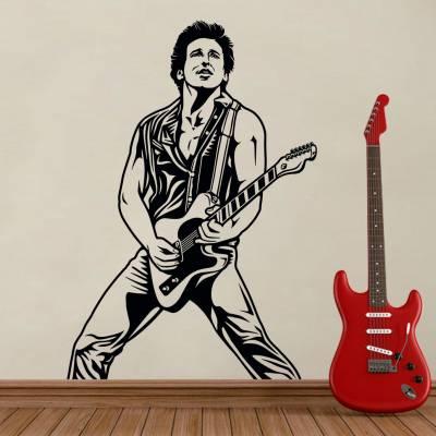 Adesivo De Parede Rock And Roll