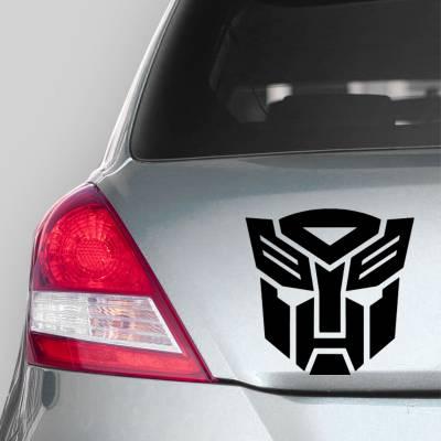 Adesivo de Carro Silhueta Autobots